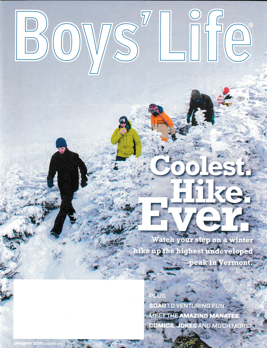 Cover Photograph for Boys life