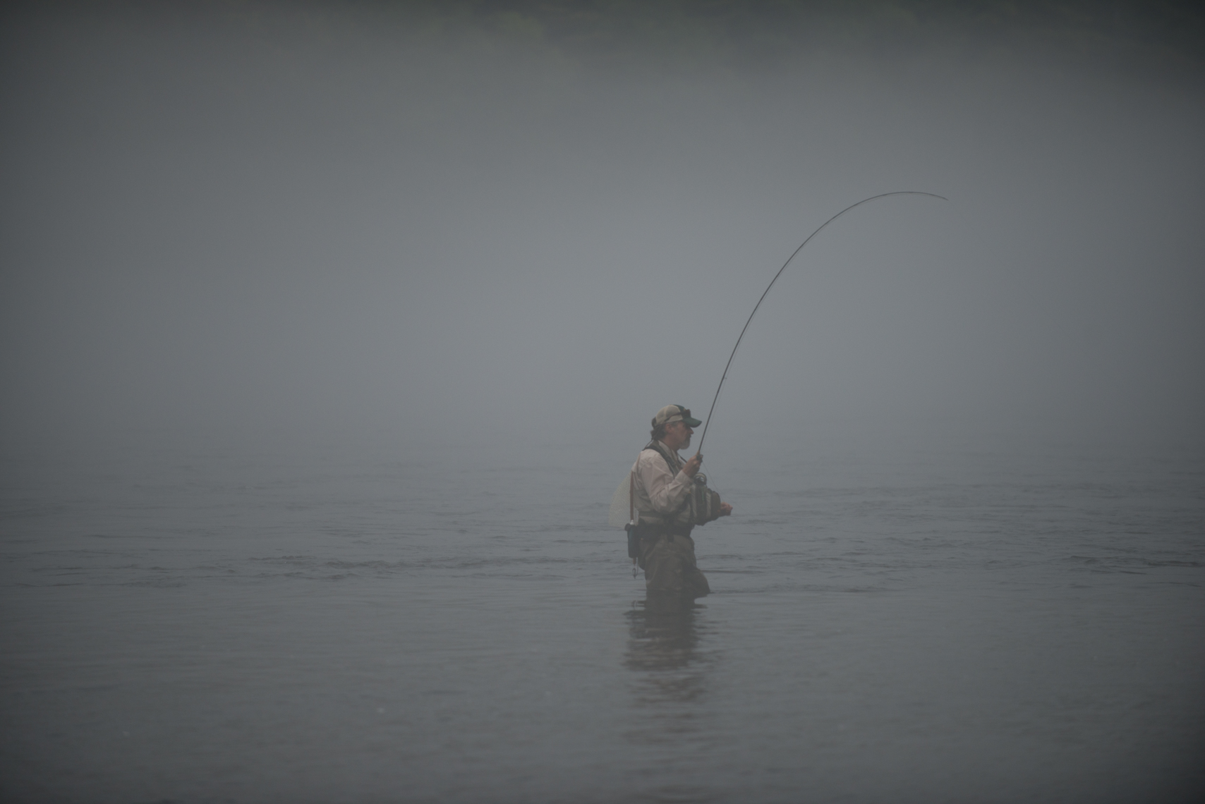 Casting in the fog