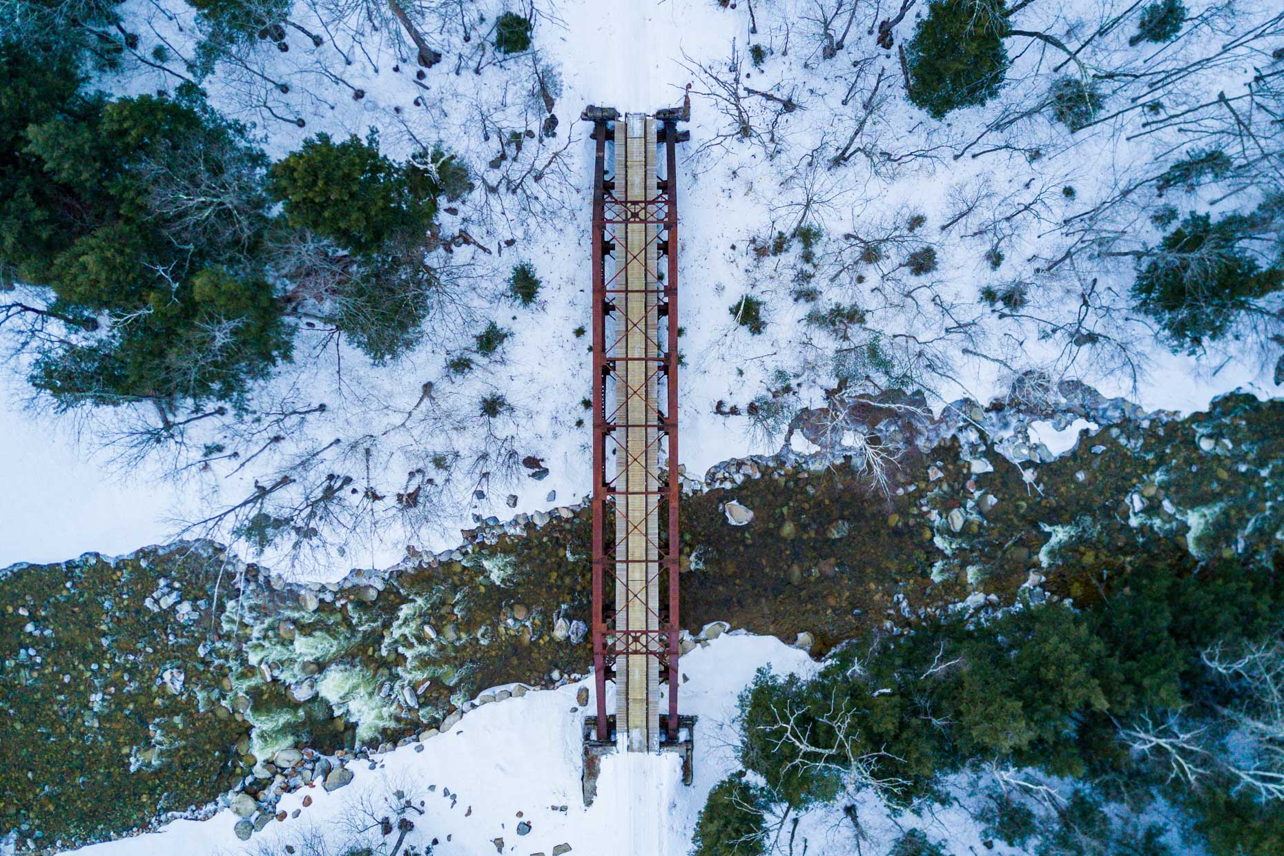Fourth Iron Trestle, Crawford Notch