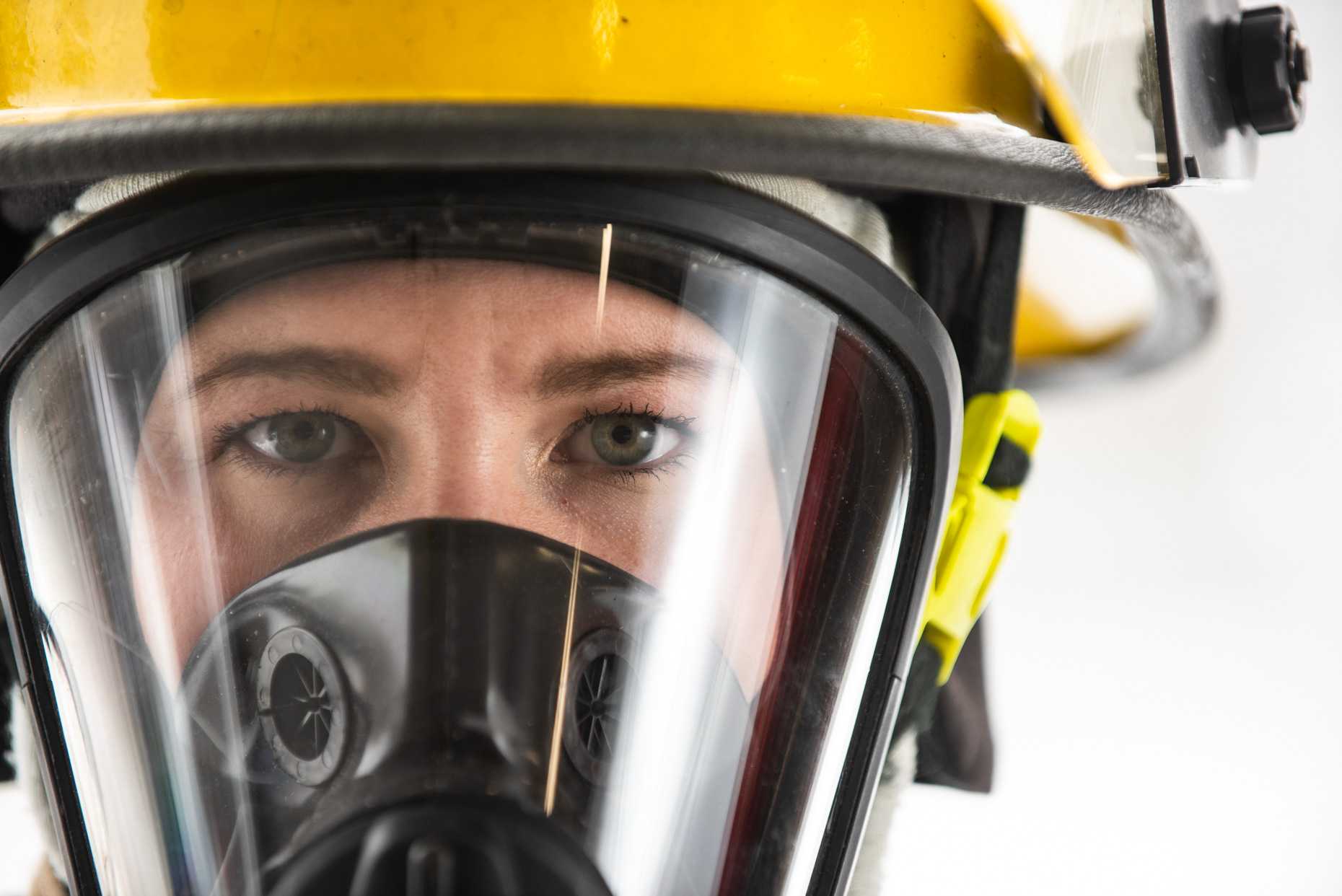 Hannah Guilford - volunteer firefighter.