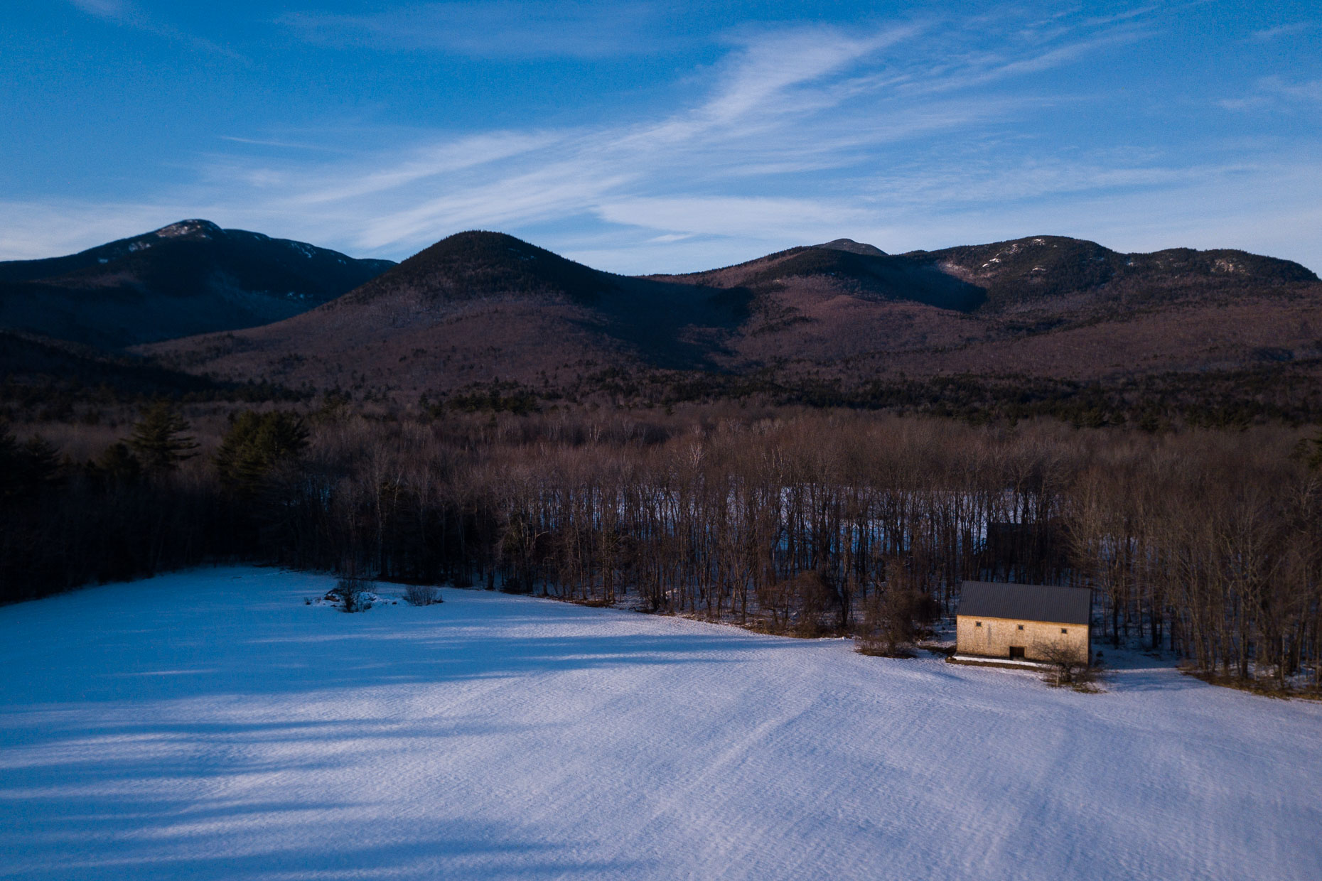 Wonalancet, New Hampshire from the air